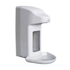 XXLselect Zeep- & desinfectiemiddeldispenser automatisch - 215x99x(h)325mm - 1000ml