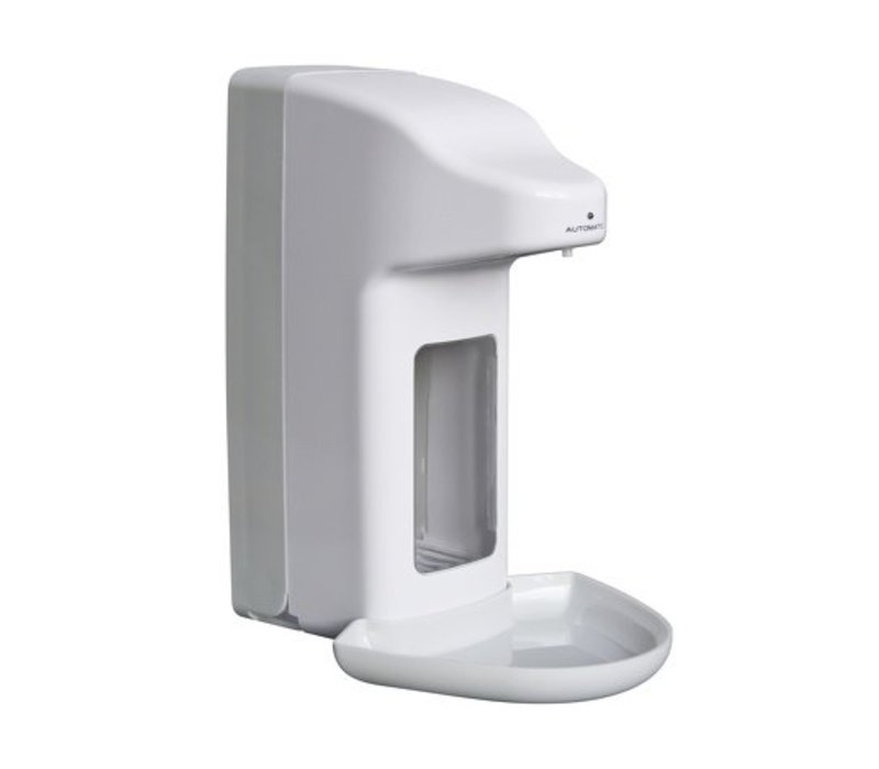 XXLselect Soap and disinfectant dispenser automatically - 215x99x (h) 325mm - 1000ml