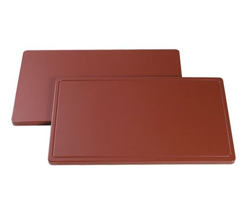 Caterchef Cutting boards DPE 500 - trench - 4 (H) x50x30cm - 6 colors