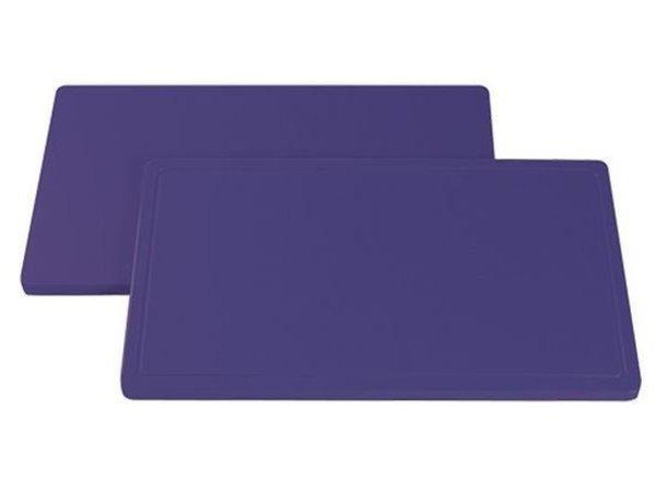 Caterchef Cutting boards DPE 500 - flat - 1 / 1GN (2 (H) x53x32,5cm) - 7 colors