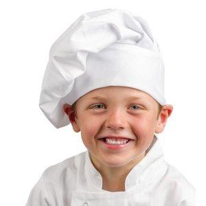 XXLselect Whites Chef's Hat Child - Universal size - White - Unisex