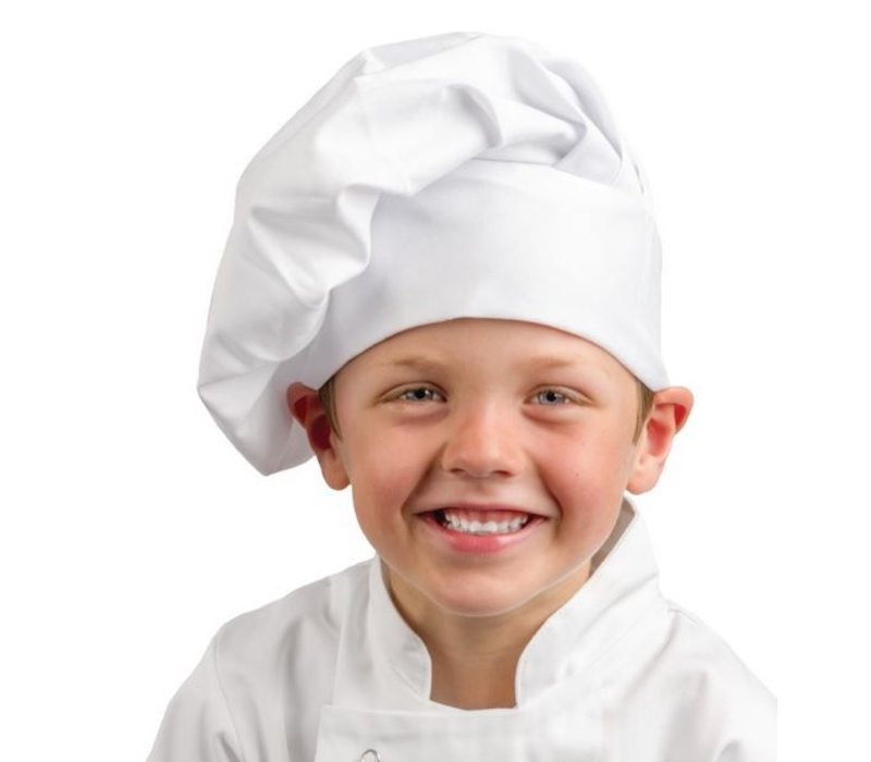 XXLselect Whites Chef's Hat Child - Universal size - White - Unisex