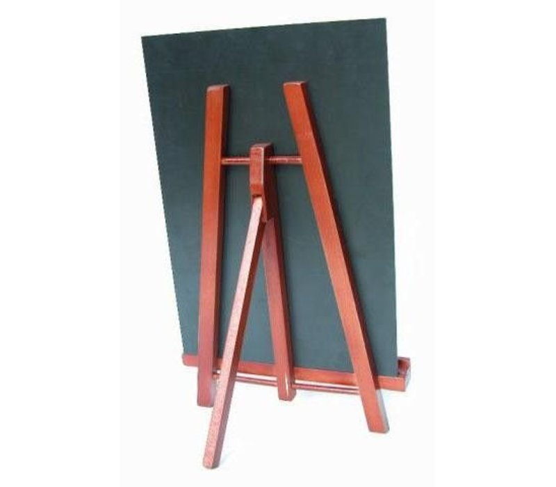 Securit Table chalkboard Junior A4 Mahogany - 36x22cm