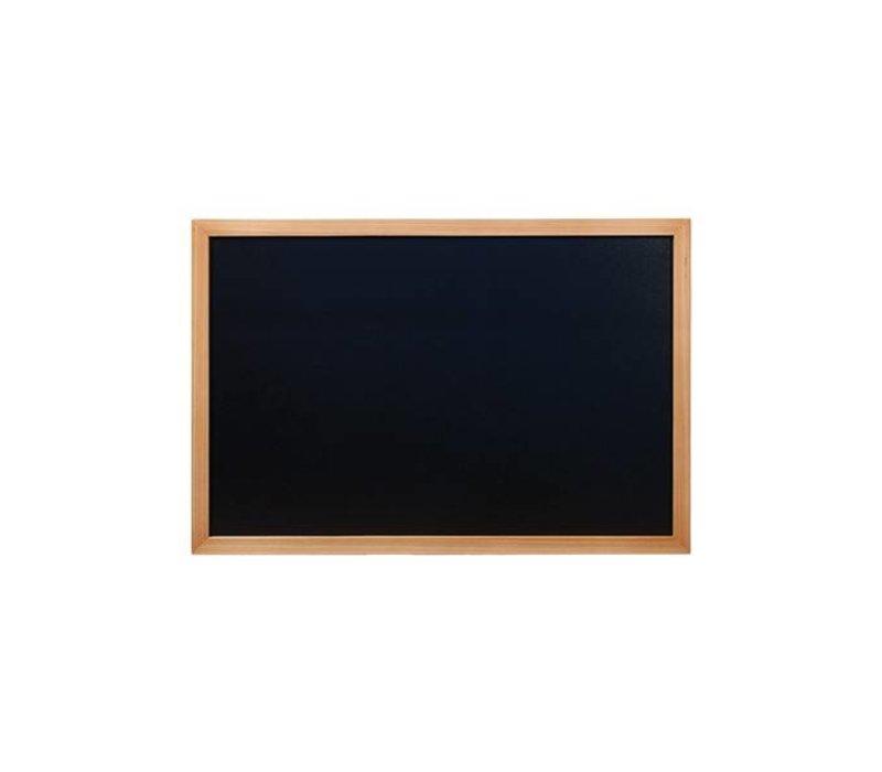 Securit Woody Wand Chalkboard - Teak - Wählen Sie aus 5 Größen