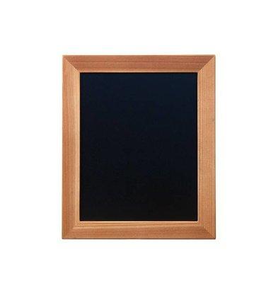 Securit Chalkboard wall Woody - Teak - Choose from 5 Sizes