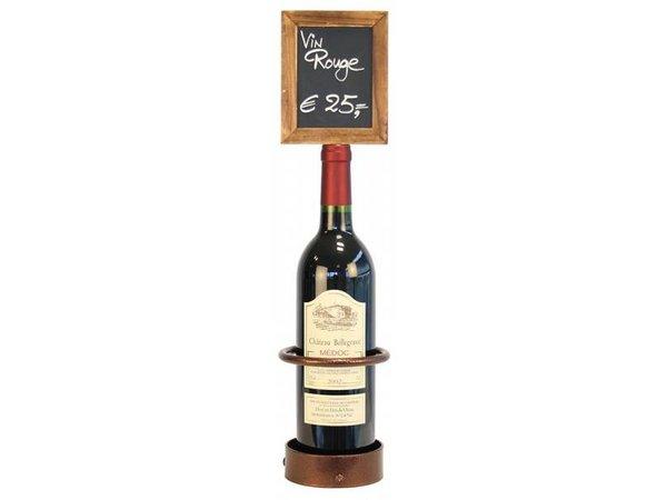 Securit Flaschenhalter-Tafel, 1 Flasche