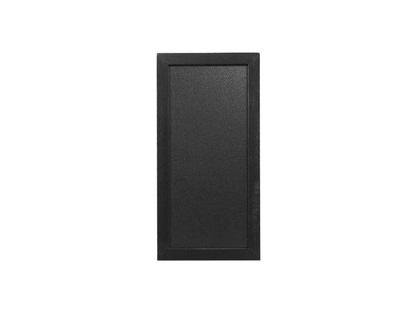 Securit Wand Krijtbord Woody - Zwart - Kies uit 5 Maten