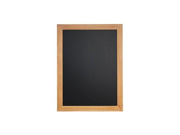 Securit Teak wall chalkboard - 5 Sizes