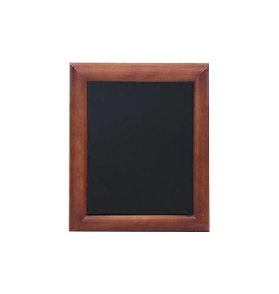Securit Wandtafel Dunkelbraun - 5 Größen