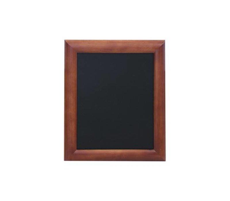 Securit Wand krijtbord Donker Bruin - 5 Maten