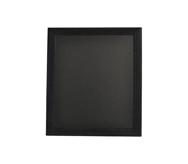 Securit Wand krijtbord Universal Zwart - 3 Maten
