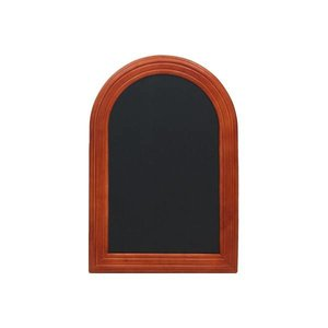 Securit Wall chalkboard Rondo Mahogany - 3 Sizes