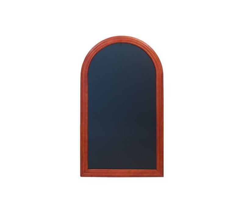 Securit Wandtafel Rondo Mahagoni - 3 Größen