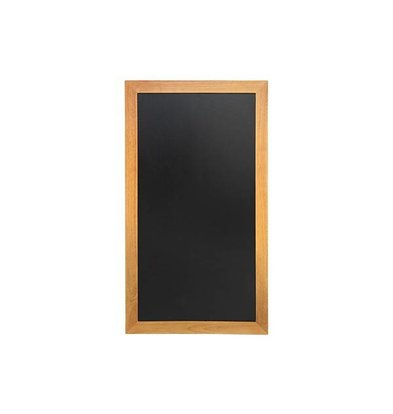 Securit Wand krijtbord Teak Long - 4 maten