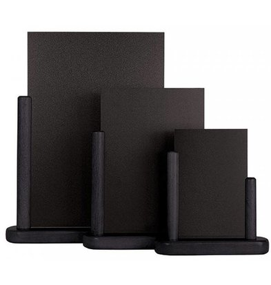 Securit Table chalkboard Elegant Black - 3 Sizes