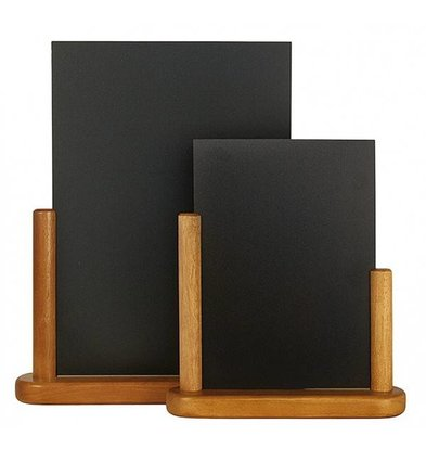 Securit Chic Teak table chalkboard - 2 Sizes