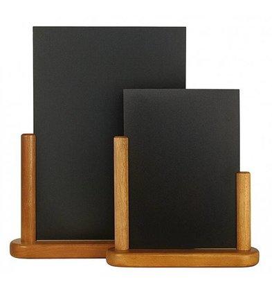 Securit Tafel krijtbord Elegant Teak - Beschikbaar in 2 Maten
