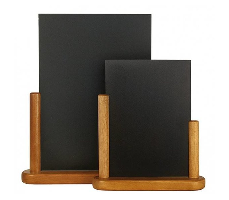 Securit Chic Teak table chalkboard - 2 Sizes