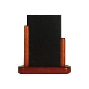 Securit Elegante Mahagoni-Tisch Tafel - 3 Größen