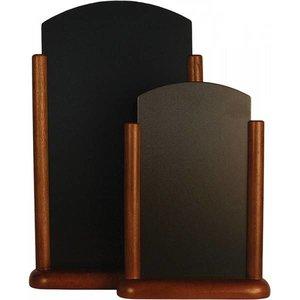 Securit Elegante Dunkle Tafel Tisch - 2 Größen