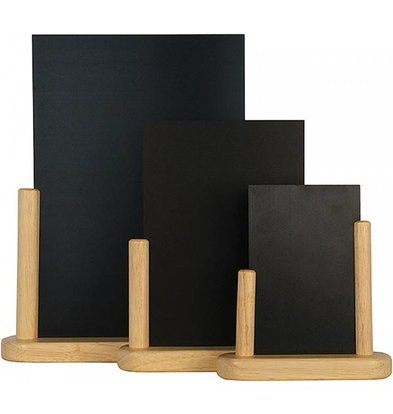 Securit Elegant table chalkboard Blank - 3 Sizes
