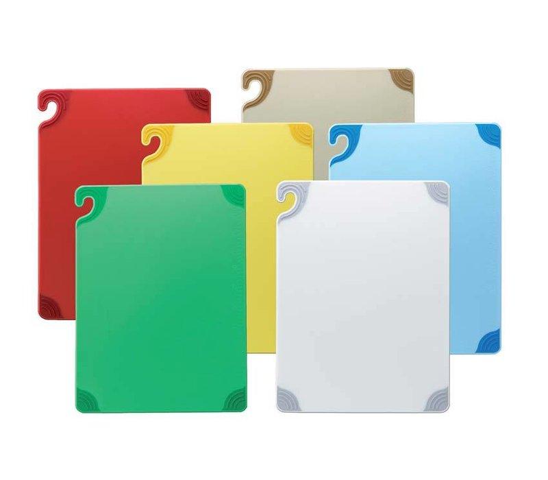San Jamar San Jamar Cutting board - 23x30cm - Saf-T-Grip - 6 Colors