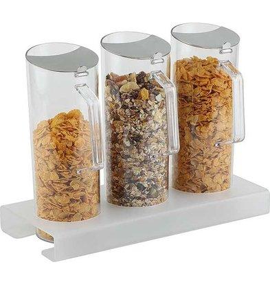 APS Vierteilige Cereal Bar | 380x155 (H) 40 mm