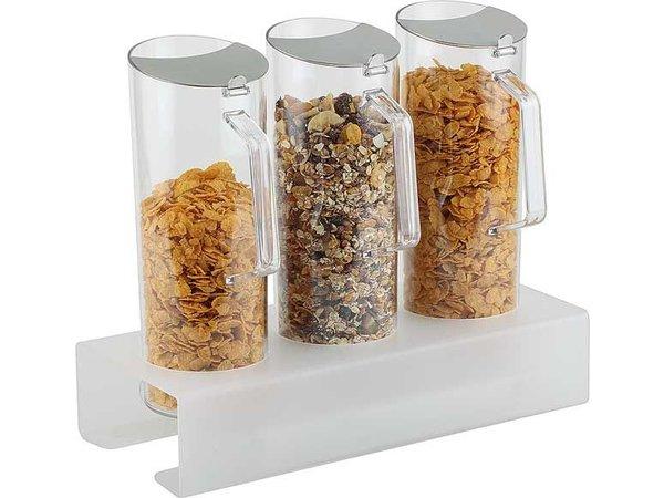 APS Vierteilige Cereal Bar | 380x155x (H) 80 mm