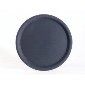 APS Nonslip Tray Round | Black | Stackable | Ø38cm