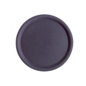 APS Antislip Dienblad Rond | Zwart | Stapelbaar | Ø43cm