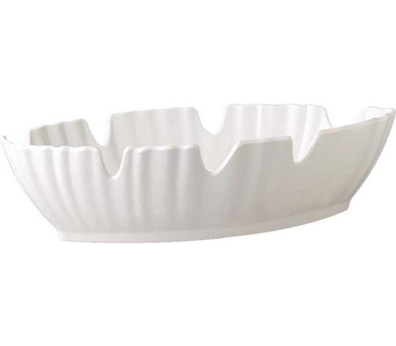 APS Journal Scale - NATURAL - Melamine White - Dishwasher safe - 400x185x (h) 100 mm