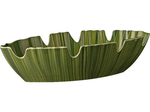 APS Journal Scale - NATURAL - Melamine Green - Dishwasher safe - 400x185x (h) 100 mm
