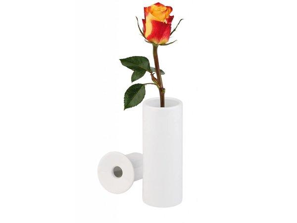 APS Flower Vase Porzellan | 2 / Stück-Satz | Ca. Ø 5 x (H) 13 cm |