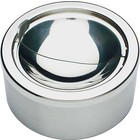 APS Stainless steel ashtray | With High Polished Windshield | Ø12x (H) 5.5cm