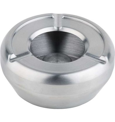 APS Stainless steel ashtray | Stackable | With Windscreen | Ø10cm