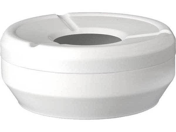 APS Ashtray   Melamine White   Stackable   Ø10x (H) 4cm