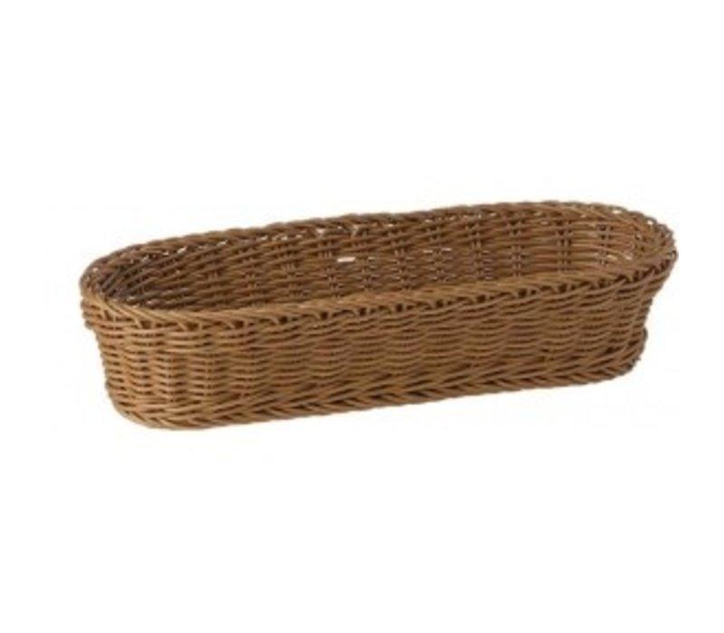 APS Baguette Basket Oval - 280x160x (h) 80 mm