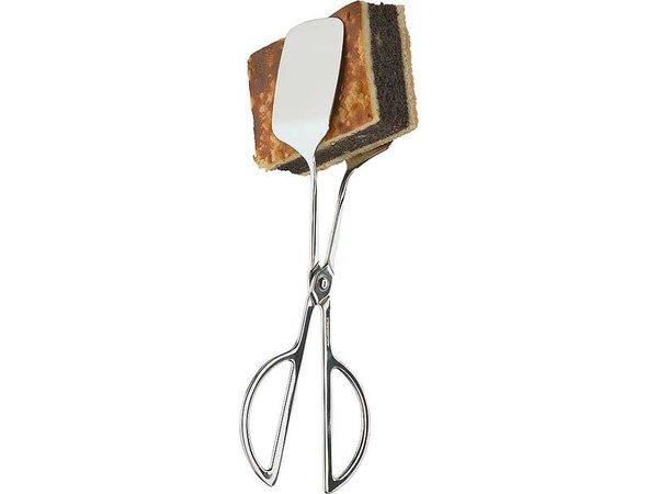 APS Brot und Gebäck Tang   18/8 Edelstahl   65mm, Länge 250mm