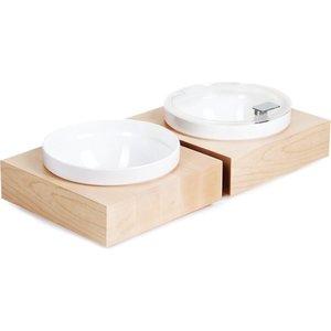 APS Buffet Box Vierkant Groot | Inclusief witte Melamine Kom | 26,5x26,5x(H)8,5cm
