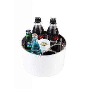 APS Conference-Kühler | Sieger Design | Edelstahl | Inklusive Flaschenkühler | Ø23x (H) 15cm