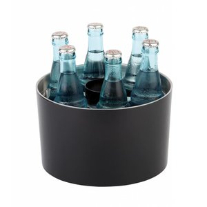 APS Conference Cooler | Sieger Design | Black | Stainless steel | Stackable | Ø23x (H) 15cm