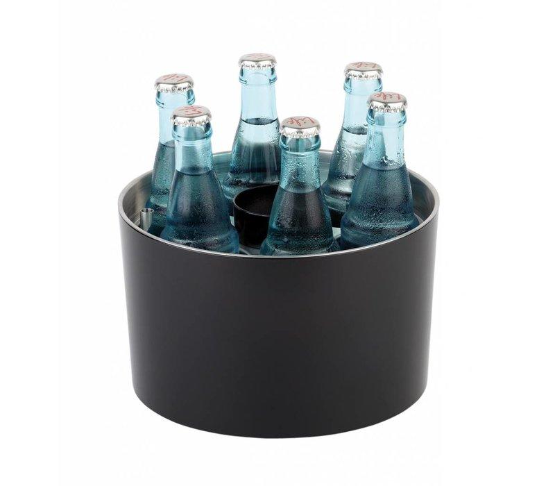 APS Conference Cooler | Sieger Design | Black | Edelstahl | Stapelbar | Ø23x (H) 15cm