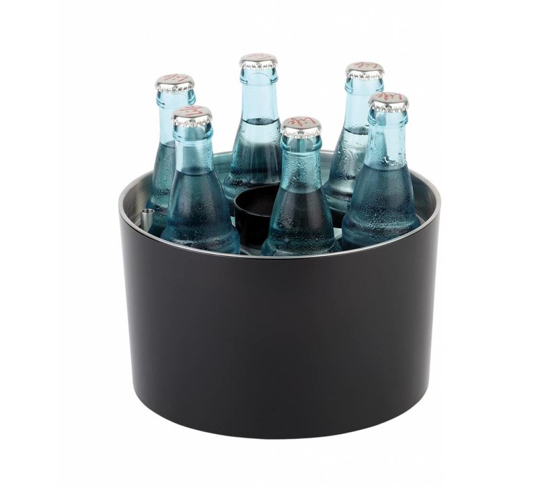 APS Conference Cooler | Sieger Design | Black | Stainless steel | Stackable | Ø23x (H) 15cm