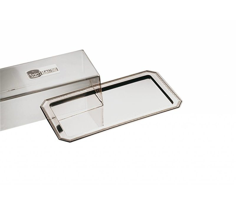 APS Cakes / Cheese Bowl Elegance | Stainless steel | Luran Cover | 35x19cm