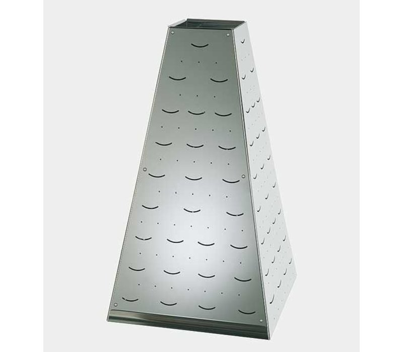 APS Buffet Pyramide Large | Stainless steel | 30x30x (H) 53cm