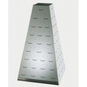 APS Buffet Pyramide Medium   Edelstahl   22x22x (H) 31cm