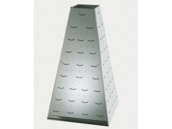 APS Buffet Pyramide Medium | RVS | 22x22x(H)31cm