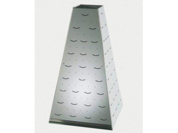 APS Buffet Pyramide Medium | Stainless steel | 22x22x (H) 31cm