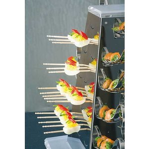 APS Buffet Pyramide Set Large | Stainless steel | 51x51x (H) 55 cm