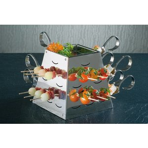 APS Buffet Pyramide Set Small | Stainless steel | 17x17x (H) 17cm